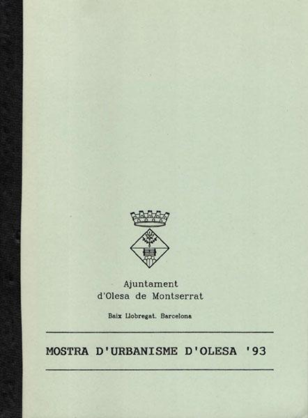 MOSTRA URBANISME OLESA 93